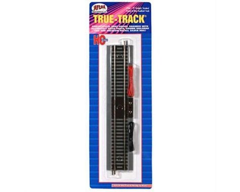 "Atlas Railroad HO True-Track 9"" Straight Terminal Section"