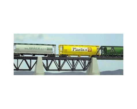 Atlas Railroad HO Code 83 Deck Truss Bridge