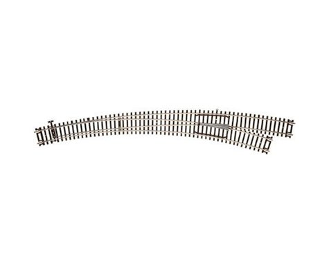 Atlas Railroad HO Code 83 Curved Left-Hand Turnout