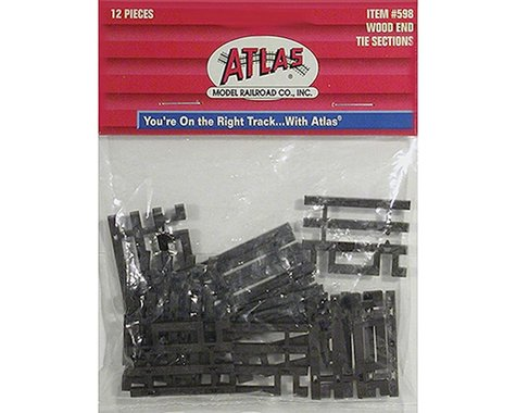 Atlas Railroad HO Code 83 Flex-Track End Ties (6)