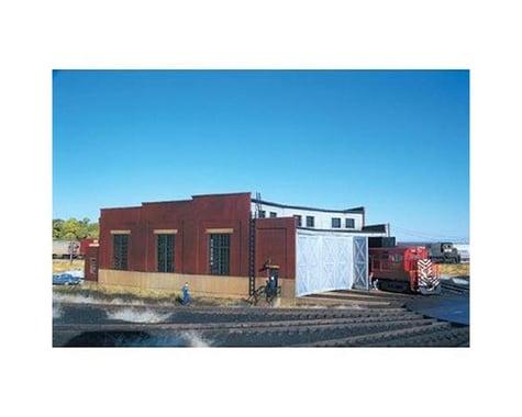 Atlas Railroad HO KIT 3-Stall Roundhouse