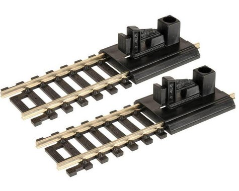 Atlas Railroad HO-Scale Code 100 Bumpers (2) (Nickel Silver)