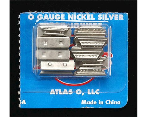 Atlas O 6091 N/S Rail Joiners (16)
