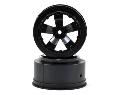 Avid RC Sabertooth Short Course Wheels w/3mm Offset (Black) (2) (SC5M)