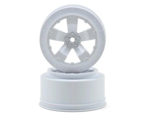 Avid RC Sabertooth Short Course Wheels w/3mm Offset (White) (2) (SC5M)