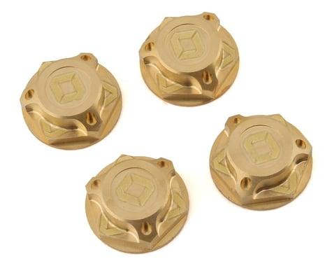 Avid RC Triad 17mm Brass Capped Wheel Nut Set (4)