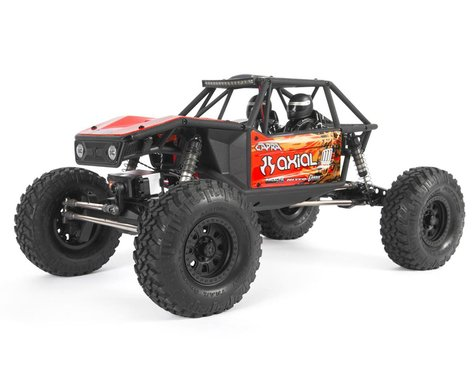 SCRATCH & DENT: Axial Capra 1.9 Unlimited Trail Buggy 1/10 RTR 4WD Rock Crawler (Red)