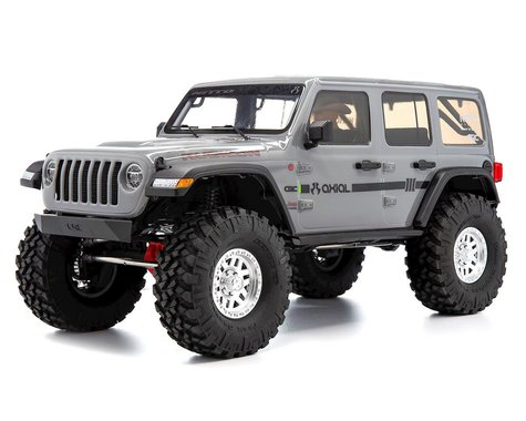 "SCRATCH & DENT: Axial SCX10 III ""Jeep JLU Wrangler"" RTR 4WD Rock Crawler (Grey)"