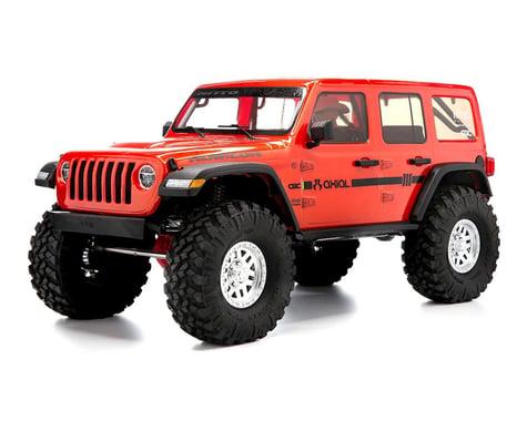 """Axial SCX10 III """"Jeep JLU Wrangler"""" RTR 4WD Rock Crawler (Orange)"""
