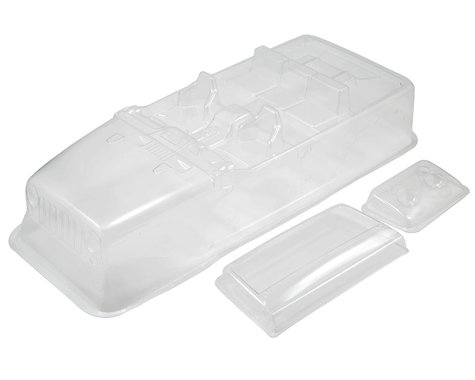 Axial 2012 Jeep Wrangler Unlimited Rubicon Complete Body Set (Clear)