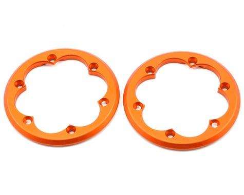 Axial 2.2 VWS Machined Beadlock Ring Set (Orange) (2)