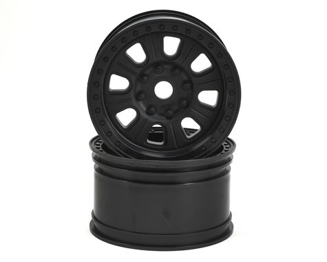 """Axial 3.8 """"Raceline Monster"""" Wheels (Black) (2)"""