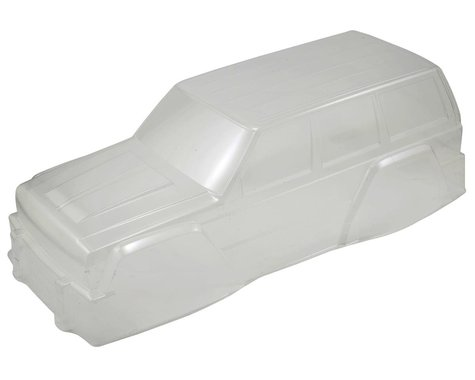 """Axial Complete .040"""" 2000 Jeep Cherokee Body (Clear) (12.3"""")"""
