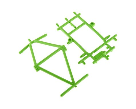 Axial Monster Truck Cage Roof and Hood, Green