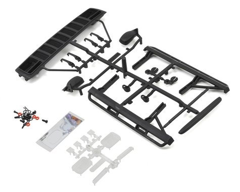 Axial 2000 Jeep Cherokee Body Exterior Details