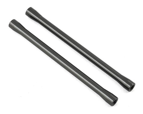 Axial 7.5x101.5mm Aluminum Threaded Link (Grey) (2) (Hard Anodzied)