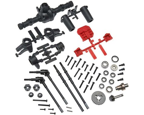 Axial AR44 Complete Locked Axle Set (Build Front or Rear)