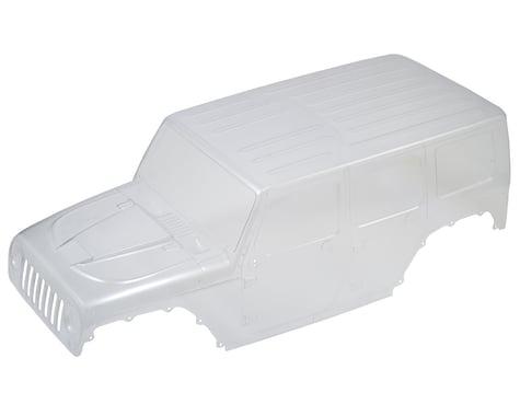 Axial 2017 Jeep Wrangler Rubicon Hardtop Body (Clear)