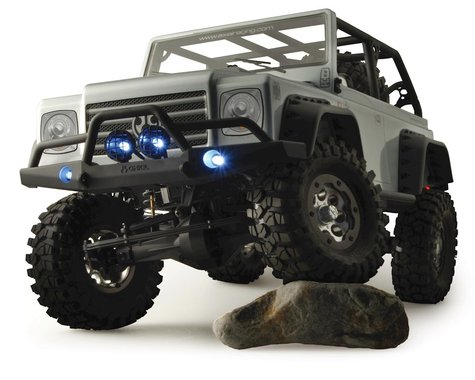"Axial Dingo Truck Body Only: .040"" Uncut:  Clear"