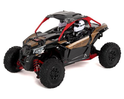 Axial Yeti Jr. Can-Am Maverick X3 1/18 RTR 4WD Electric Rock Racer Buggy