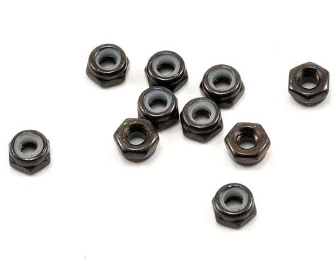 Axial 3mm Thin Nylon Locking Hex Nut Set (Black) (10)