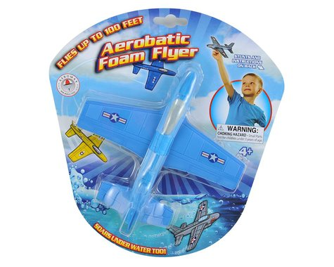 Aeromax Aerobatic Foam Flyer (Assorted Colors)