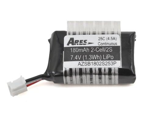 Ares 2S 25C LiPo Battery w/3-Pin (7.4V/180mAh) (Taylorcraft 130)