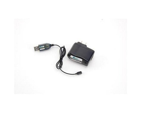 Ares Charger USB and AC PS Combo 0.4A, 104C 1-Cell / 1S 3.7V LiPo
