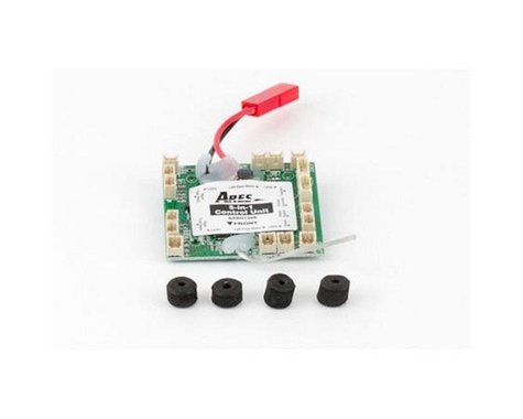 Ares 5-in-1 Control Unit, Rx/ESCs/Mixer/3-Axis Gyro/3-Axis Accelerometer: Ethos QX 130