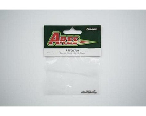Ares AZSQ1719 Screw Set (10): Spidex