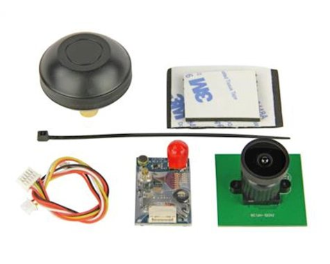 Ares AZSZ2841 200MW FPV System Camera VTX: Crossfire