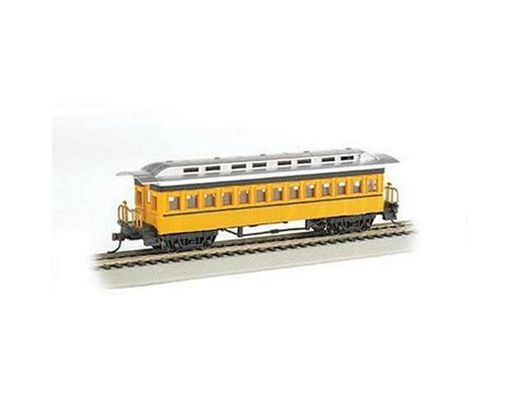 Bachmann Painted Unlettered 1860-1880's ERA Coach (Yellow) (HO Scale)