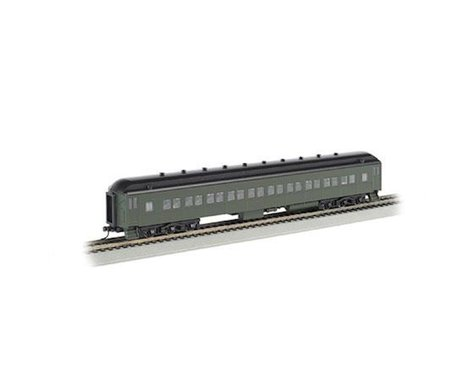 Bachmann Painted Unlettered 72' Coach (Pullman Green) (HO Scale)