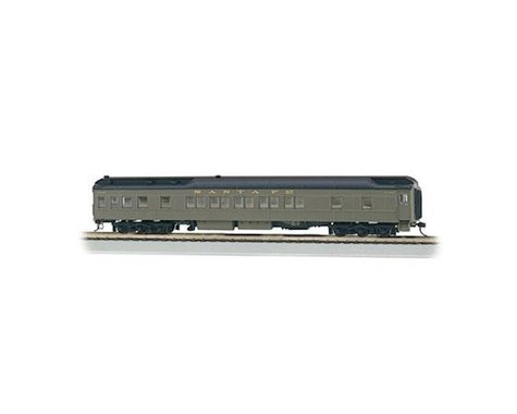 Bachmann Santa Fe Heavyweight 80' (Pullman Green) (HO Scale)