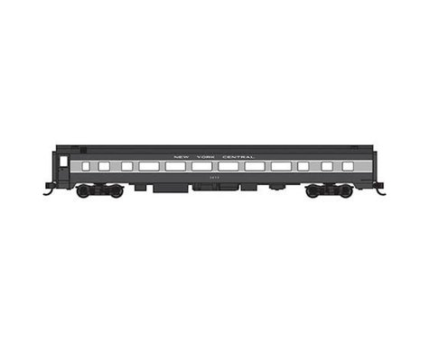 Bachmann New York Central 85' Smooth-Side Coach (N Scale)