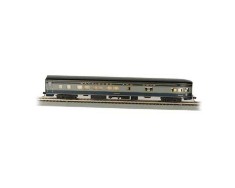 Bachmann B&O Smooth-Side Observation Car w/ Lighted Interior (HO Scale)