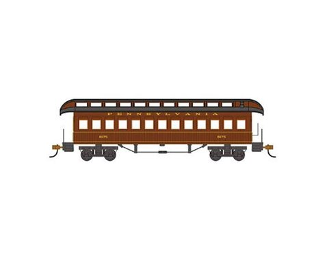 Bachmann Pennsylvania Railroad 1860-80's Era Coach (HO Scale)