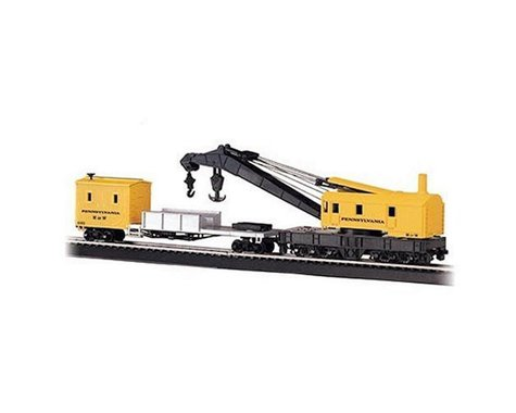 Bachmann Pennsylvania 250-Ton Steam Crane & Boom Tender (HO Scale)