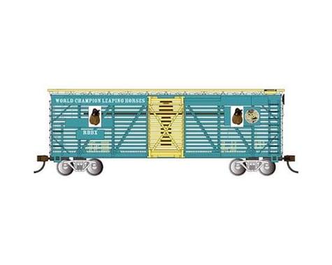 Bachmann Ringling Bros & Barnum & Bailey Animated Horse Car (HO Scale)