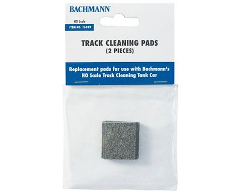 Bachmann Track Cleaning Car Replacement Pads (2)