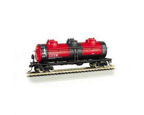 Bachmann Transcontinental Oil Co. 40' Three Dome Tank Car (HO Scale)