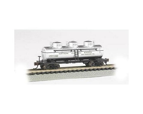 Bachmann Northern California Wineries Three Dome Tank Car (N Scale)
