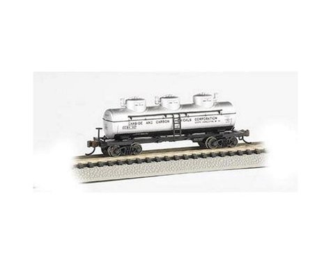 Bachmann Carbide & Carbon Chemicals Three Dome Tank Car (N Scale)