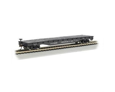 Bachmann Chesapeake & Ohio 52' Flat Car (HO Scale)