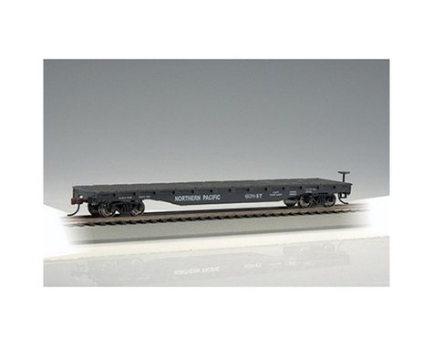 Bachmann Northern Pacific 52' Flat Car (HO Scale)