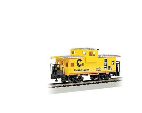 Bachmann Chessie 36' Wide-Vision Caboose (Yellow) (HO Scale)