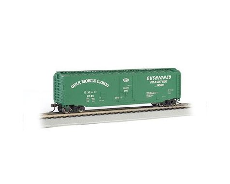 Bachmann Gulf Mobile & Ohio 50' Plug Door Box Car (HO Scale)