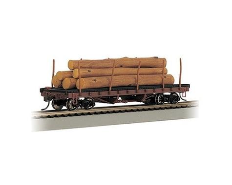 Bachmann ACF 40' 1906-1935 Era Log Car w/Logs (HO Scale)