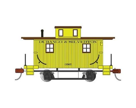 Bachmann Durango & Silverton Bobber Caboose (Yellow) (HO Scale)