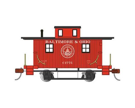 Bachmann Baltimore & Ohio #C-1775 Bobber Caboose (HO Scale)